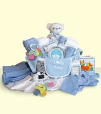 Baby Boy Basket - Blue by Suinshine Florist