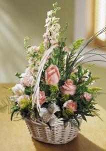 Blushing Beauty™ Basket by Suinshine Florist