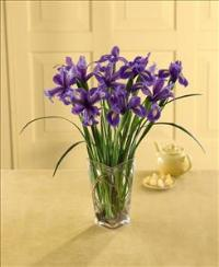 Blooming Iris Bouquet by Suinshine Florist