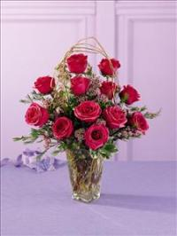 The FTD® Blazing Beauty™ Rose Bouquet by Suinshine Florist