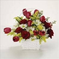 Bright Basket of Joy by Suinshine Florist