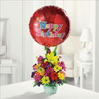 Happy Birthday Basket by Suinshine Florist