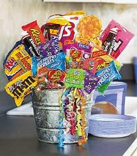 Junk Food Basket by Suinshine Florist