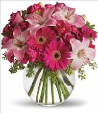 A Little Pink Me Up Bouquet by Suinshine Florist