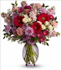 Telefloras Perfectly Pleasing Pinks by Suinshine Florist