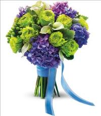 Luxe Lavender and Green Bouquet by Suinshine Florist