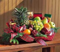 Fruit & Gourmet Basket by Suinshine Florist