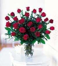 Two Dozen Red Roses by Suinshine Florist