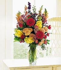 Medium Mixed Vase Arrangement by Suinshine Florist