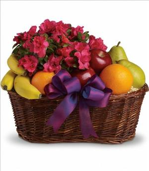 Fruits and Blooms Basket by Suinshine Florist